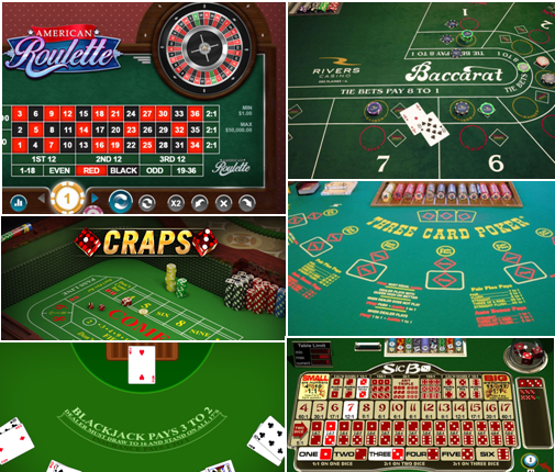 Popular table games to play at online casinos