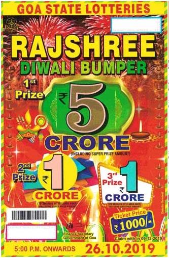 Rajshree lottery draw