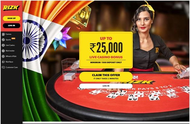 Rizk Casino India