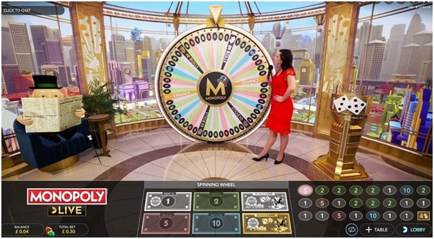 Royal Panda Indian Online Casino - Live Monopoly