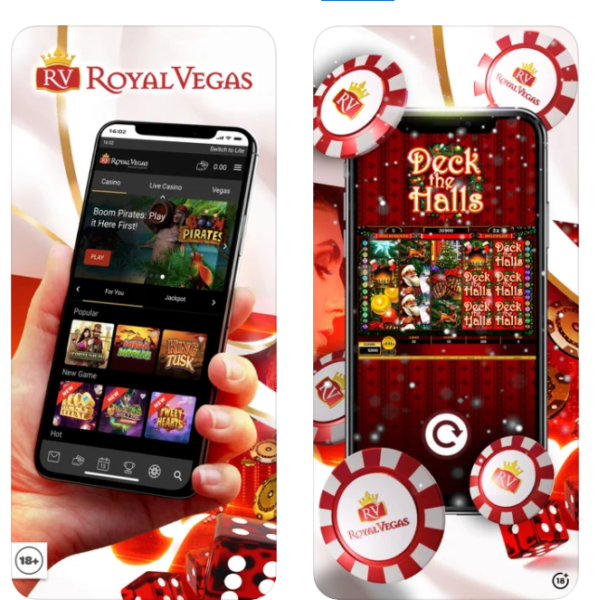 Royal Vegas Casino App for iPhone and Android