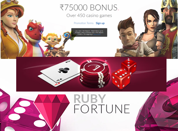Ruby Fortune Indian online casino