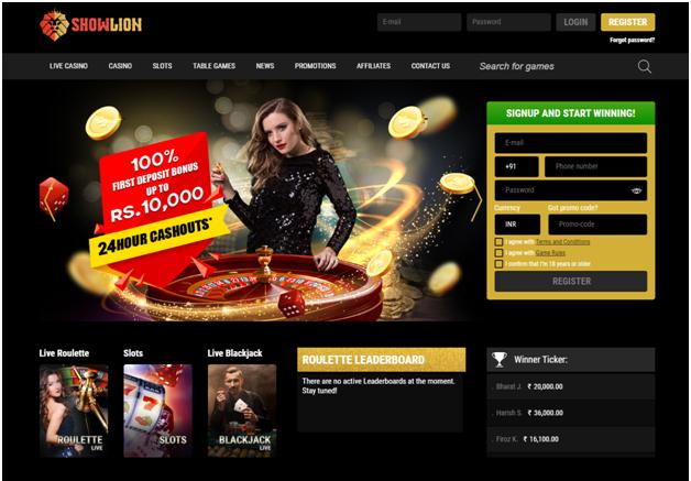 Show Lion Casino