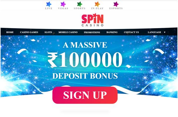 Spin Casino Online Indian casino - Bonus offers