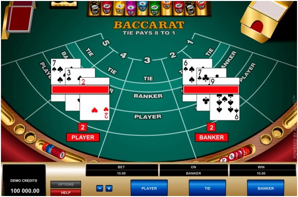 Standard game of Baccarat