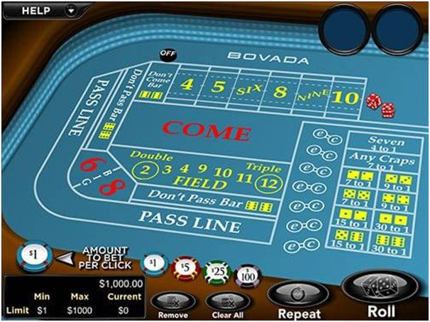 Where to play high limit craps online