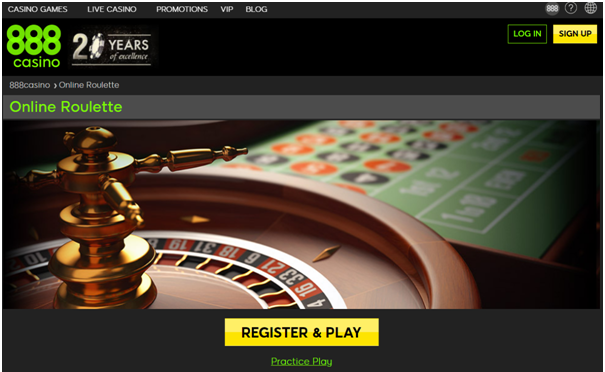Play high limit roulette at 888 casino online