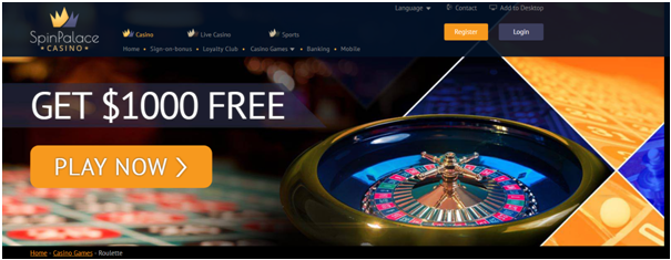 Where to play high limit roulette- Spin Palace Casino