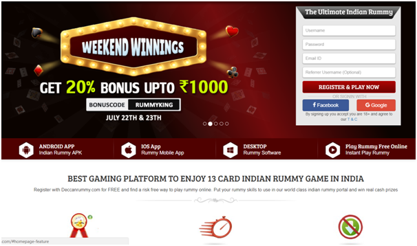 Where to play Indian Rummy
