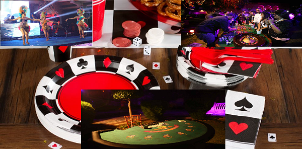 Mobile casino for weddings and parties