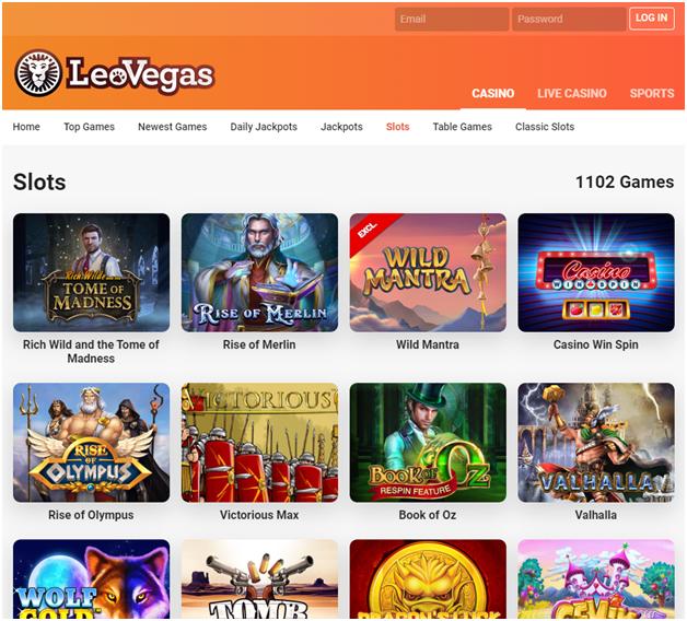 leo vegas casino for Indians
