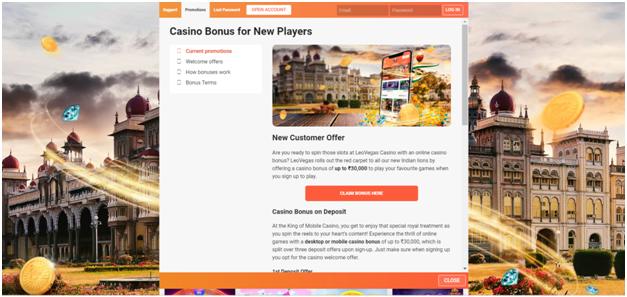 leo vegas casino indian bonus