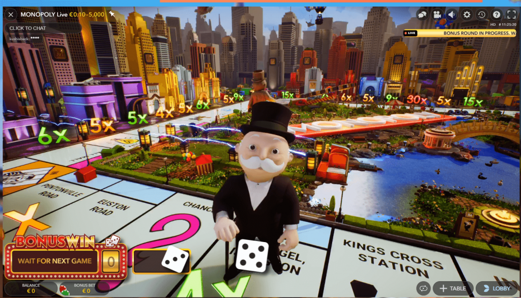 live monopoly at Indian casinos