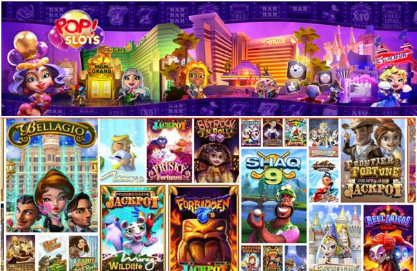 pop slots- games to play